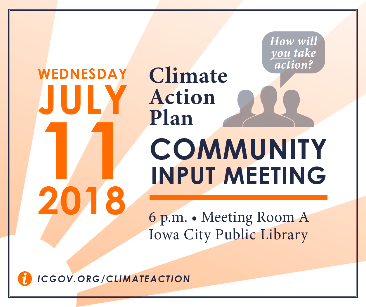 An invite to the Community Climate Action Meeting