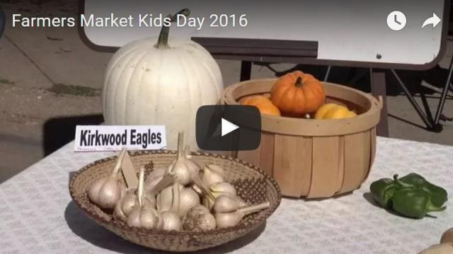 Farmers Market Kids Day 2016