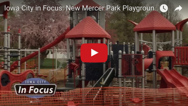 New Playground at Mercer Park