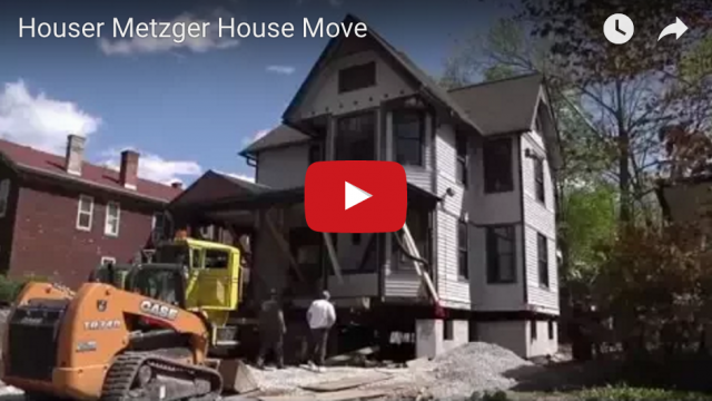 Historic Houser-Metzger House Move