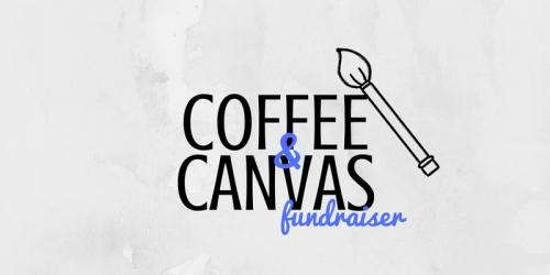 Coffee and Canvas fundraiser.