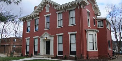 S. Summit St., owned by Kevin and Patricia Hanick, received an award in the category of Residential Rehabilitation during the 2017 Historic Preservation award ceremony