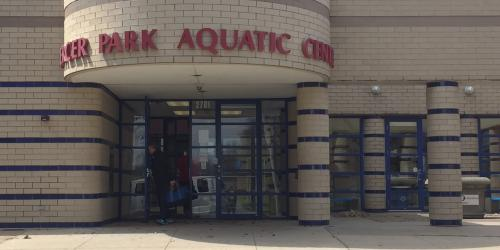 Mercer Park Aquatic Center closed during construction