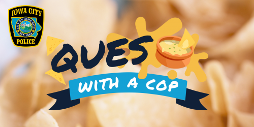 Queso with a cop logo
