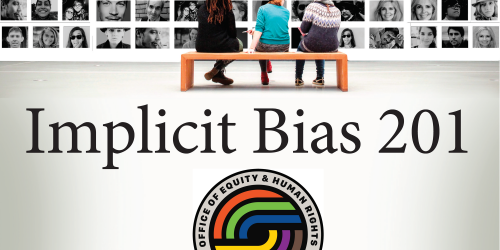 A graphic for Implicit Bias training.