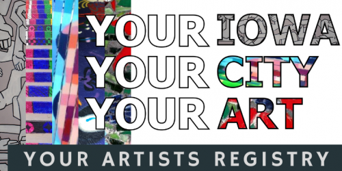 Iowa City Artist Registry logo.