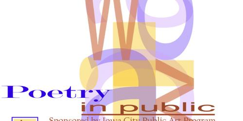 Poetry in Public logo.