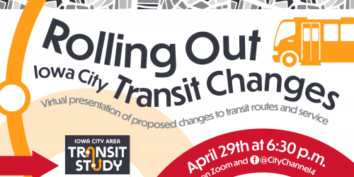 Logo for Transit Study changes presentation.