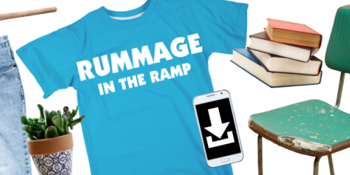 Rummage in the Ramp graphic.