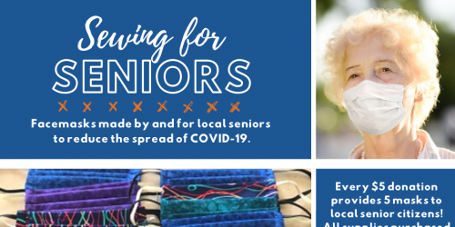 Graphic for Sewing for Seniors.