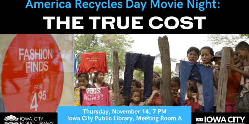 "The poster for the movie ""The True Cost."""
