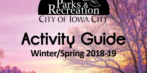2018-2019 Winter/Spring Activity Guide Cover