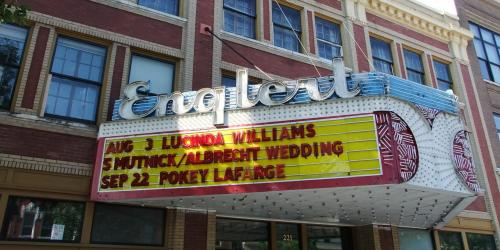 A photo of the Englert Theatre