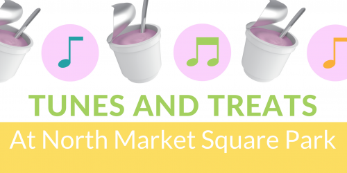 Tunes and Treats promo graphic