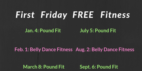 First Friday Free Fitness
