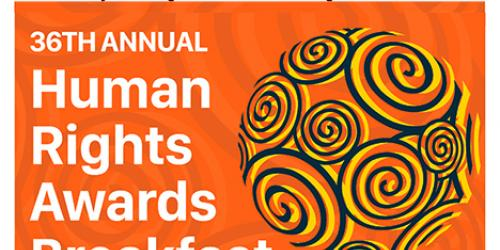 Human Rights Awards Breakfast header