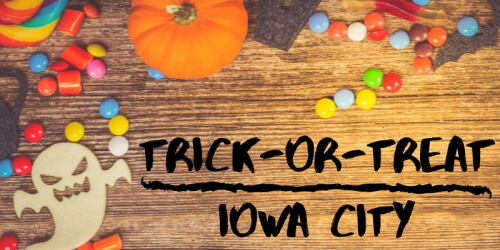 Graphic for Trick or Treating.