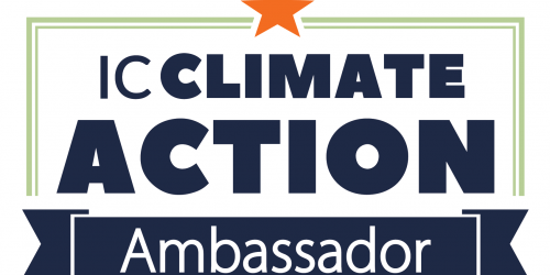 Iowa City Climate Action Ambassador Logo