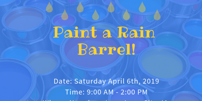 Paint a Rain Barrel