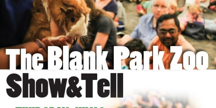 Blank Park Zoo Calendar : Srp kids the blank park zoo show tell at a m and