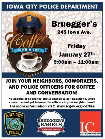 Coffee with a Cop Jan. 27, 2017