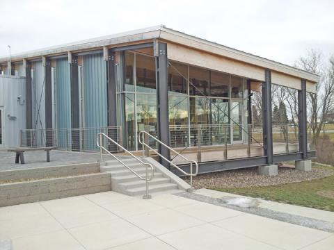 An image of the environmental education center.