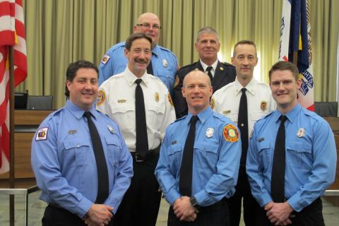 Iowa City Fire Department promotions