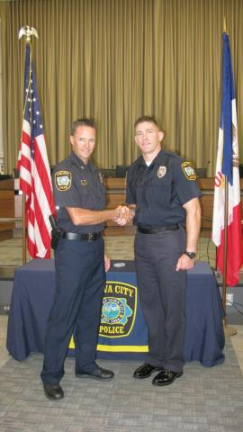 Officer Jesse Drahos hired Aug. 26, 2016