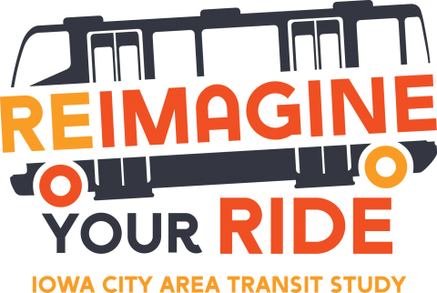 The logo for the Iowa City Area Transit Study.