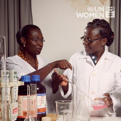 Black Scientists who are women