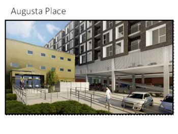 A rendering of Augusta Place in Iowa City