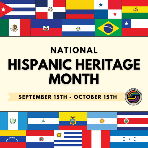 Graphic for National Hispanic Heritage Month.