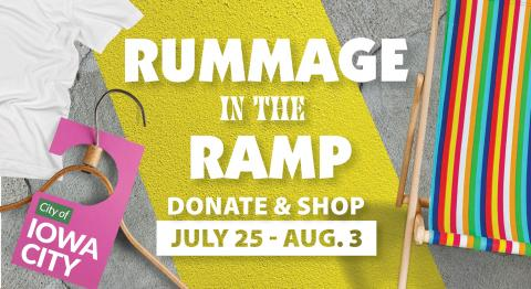Design for Rummage in the Ramp.