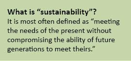 Definition of sustainability