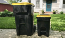 an image of City of Iowa City organics carts
