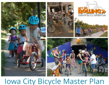 Iowa City Bicycle Master Plan graphic