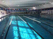 Mercer Park Aquatic Center pool