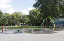 Fairmeadows Park Splash Pad