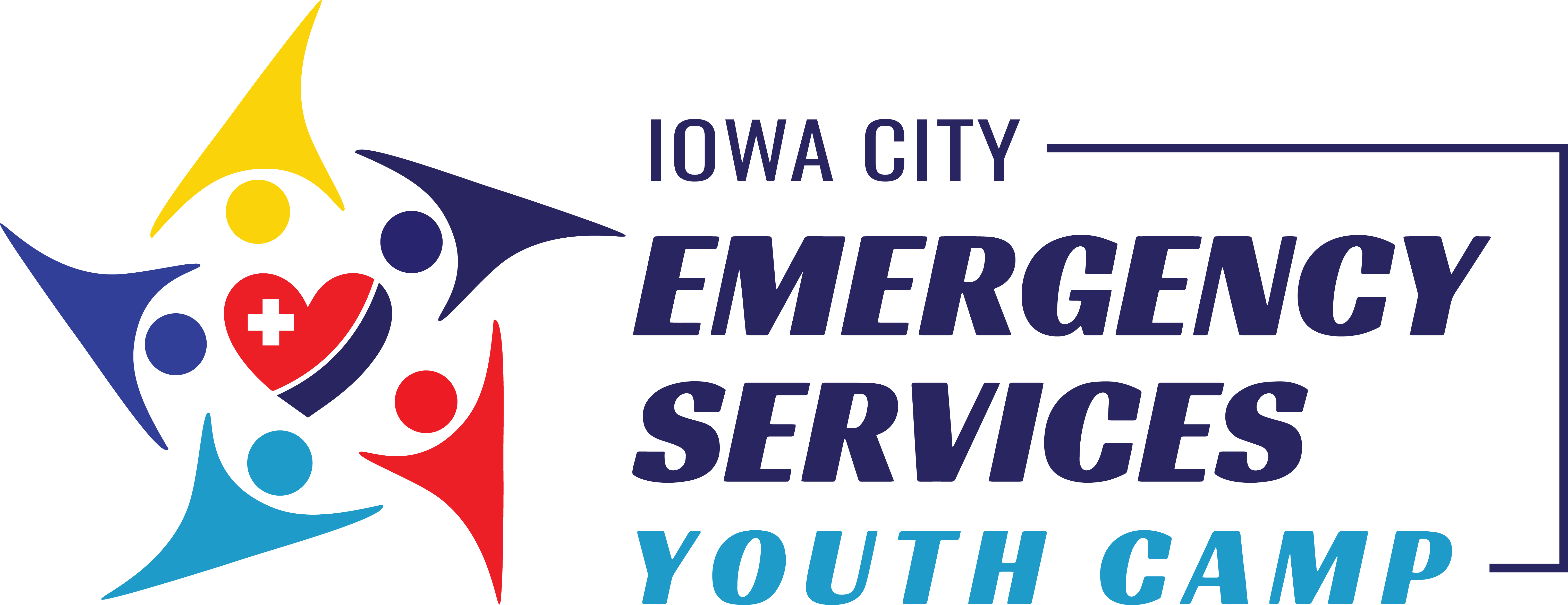The logo for the Emergency Services Youth Camps