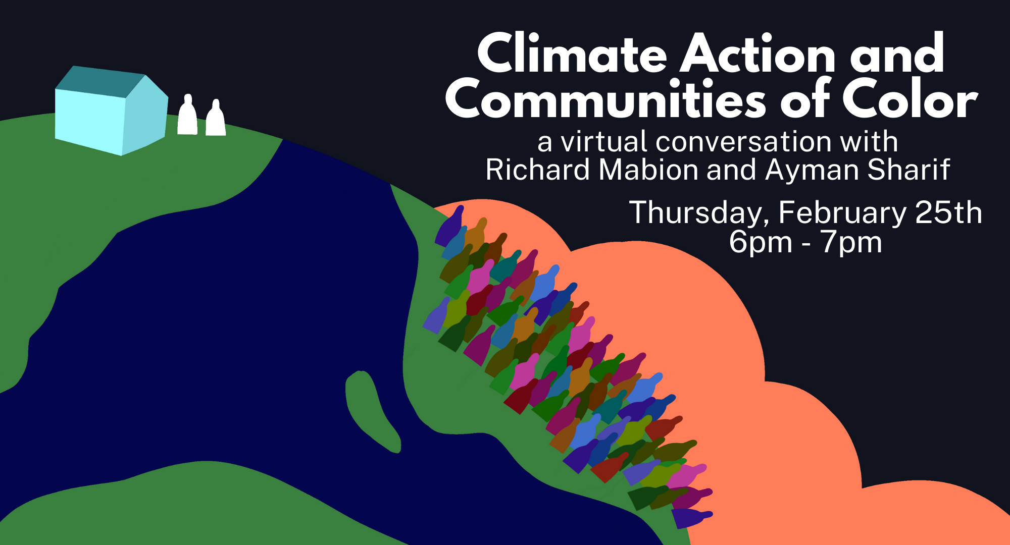 A groups for the Climate Action and Communities of Color event.