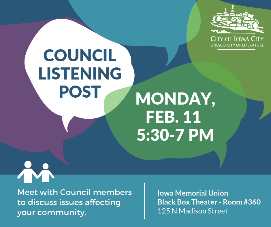 Council Listening Post graphic