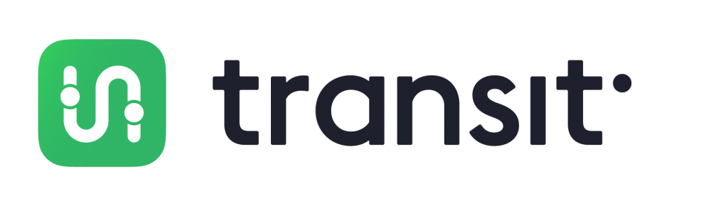 The logo for the Transit app.